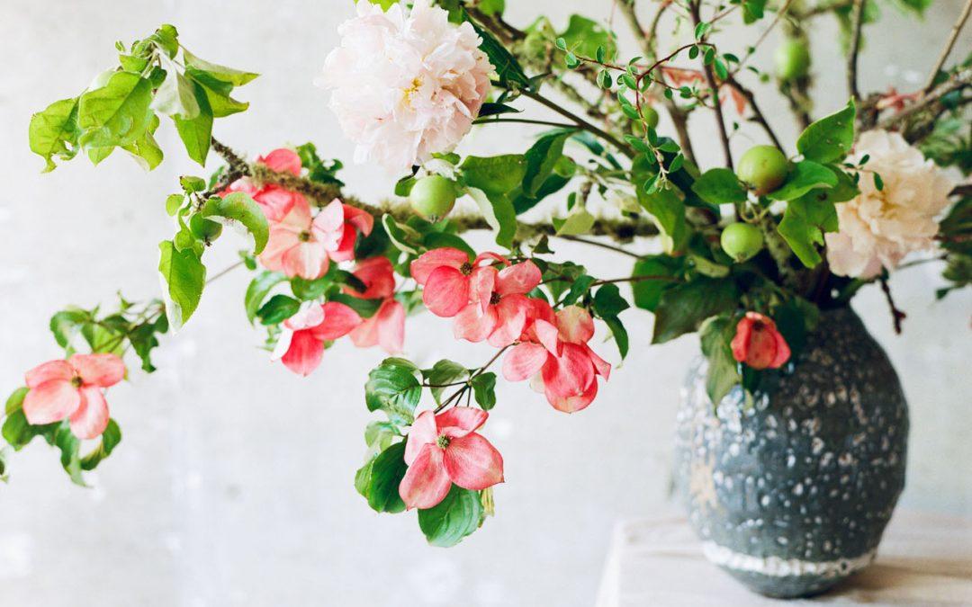 5 pasi de baza pentru a crea un aranjament ikebana