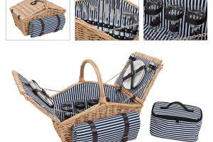 Cos picnic patru persoane Stripes