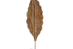 Decoratiune lemn Frunza
